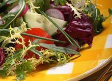 Sałatka z cykorii sałatkowej radicchio - ugotuj