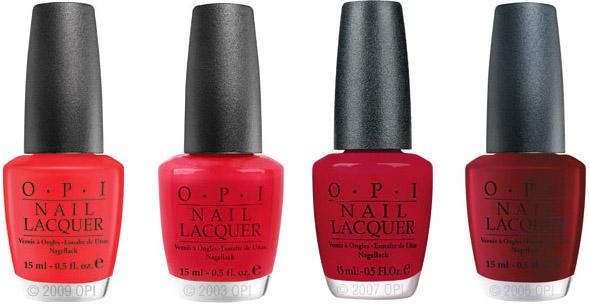 f31f109a czerwień, manicure, Czerwone lakiery do paznokci OPI