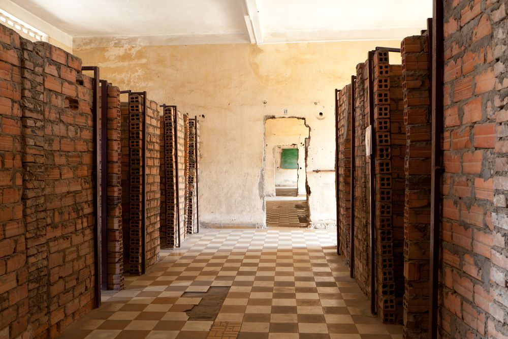 Więzienie S-21, Tuol Sleng, Kambodża / fot. Shutterstock
