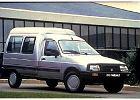 CITROEN C 15, rok produkcji 1992,  widok przedni prawy, samoch�d 3-drzwiowy, kolor silver grey