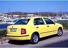 SKODA Fabia Sedan 01-04 2001 sedan tylny prawy - Zdj�cia
