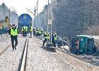 Wstrz�saj�cy raport KE: na polskich torach kolejowych ginie najwi�cej os�b w Unii