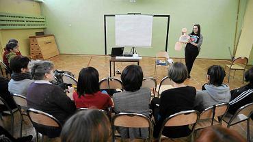 Nauczyciele podczas szkolenia