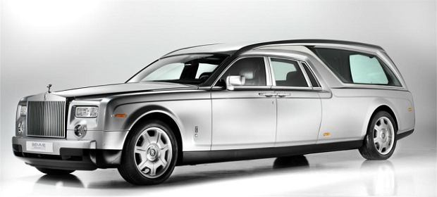 Rolls-Royce Phantom Hearse B12 - Strzyg� do Nieba