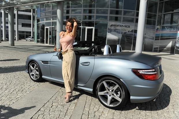 Anna Mucha samochod