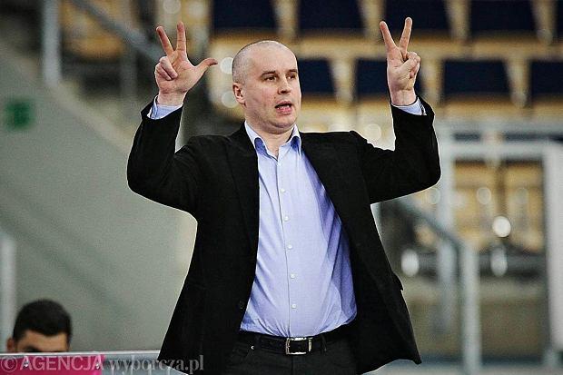 Trener Piotr Zych