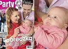 Katarzyna Skrzynecka ZNOWU z c�reczk� na ok�adce!