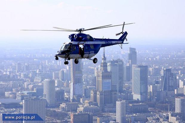 Warszawa jak metropolia: widok z policyjnego �mig�owca