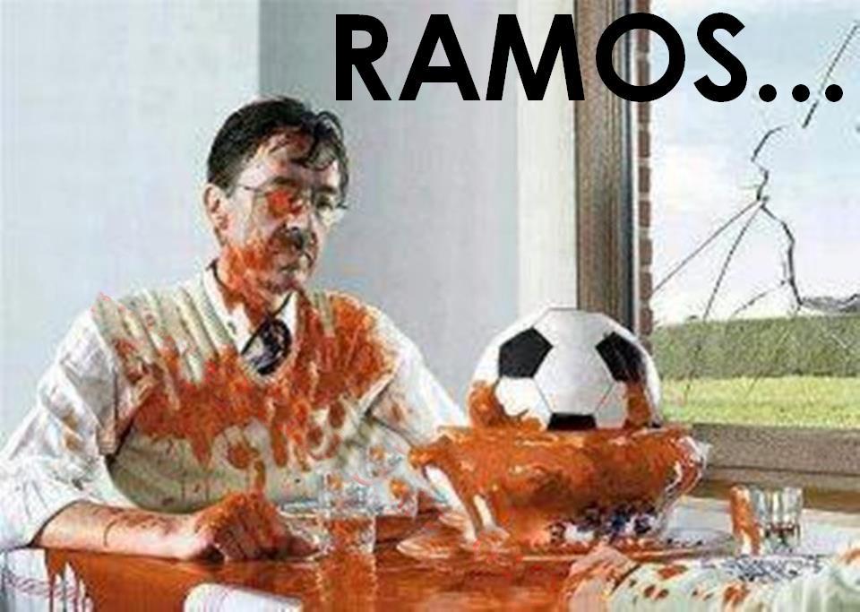 Dalsze losy piłki wykopanej w meczu z Bayernem przez Sergio Ramosa