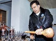 Podróże: wino z prezydentem Gruzji, wakacje, europa, podróże, Micheil Saakaszwili