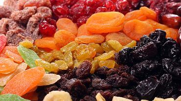 Suszone owoce nie zawsze zdrowe