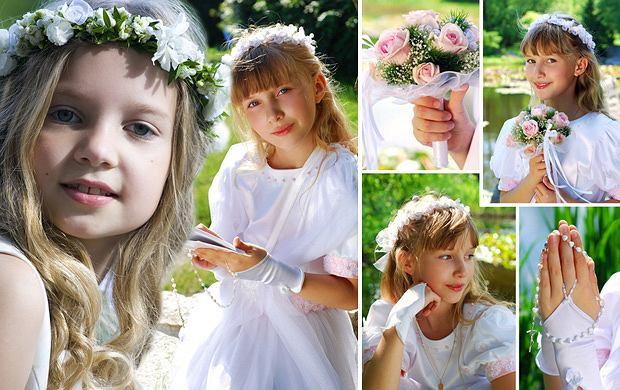 f506ca2789 Dodatki do sukienki komunijnej - ponad 40 propozycji!