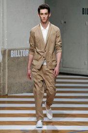 Garnitur z kolekcji Billa Tornade, moda męska, garnitury, Jasne garnitury na lato