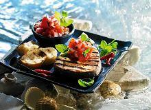 Marynowany tuńczyk z grilla - ugotuj