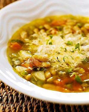 Minestrone - klasyczna w�oska zupa jarzynowa