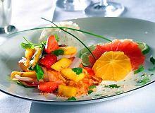 Łosoś curry z salsą owocową - ugotuj
