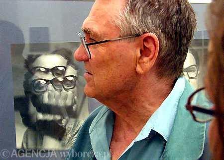 Zdzisław Beksiński / Fot. Grażyna Jaworska / AG