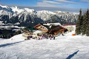 Narty w Austrii. Dachstein Tauern - karuzela w Schladming