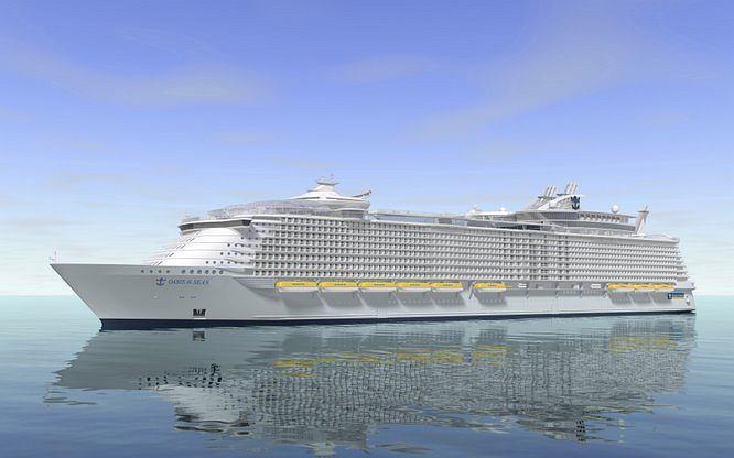 Oasis of the Seas, największy statek wycieczkowy świata