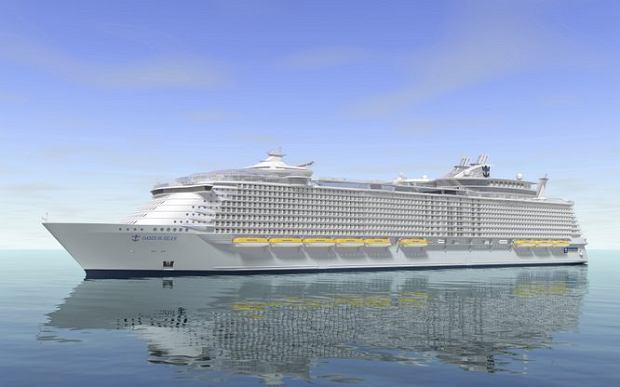 Oasis of the Seas, najwi�kszy statek wycieczkowy �wiata
