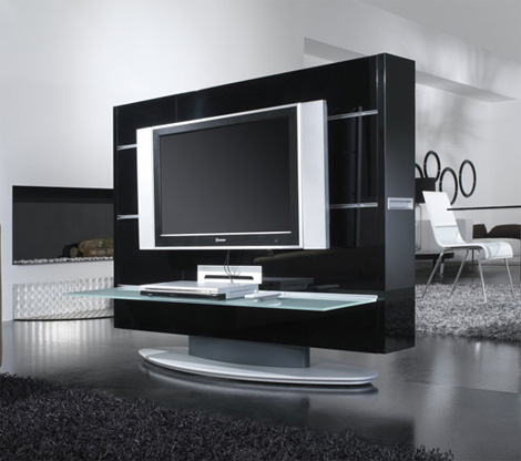 miejsce na telewizor. Black Bedroom Furniture Sets. Home Design Ideas
