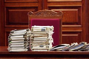 Sąd, akta