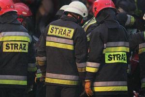 Cztery samochody sp�on�y noc� na warszawskich W�ochach. Podpalenie?