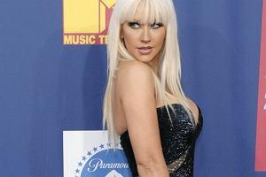 Christina Aguilera na czerwonym dywanie