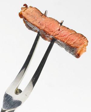 Well done - stek mocno wysma�ony