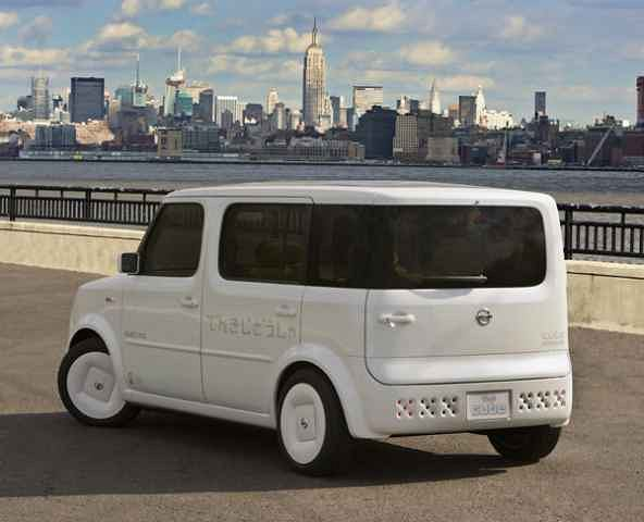 W Detroit nie zobaczymy ani Nissana Cube...
