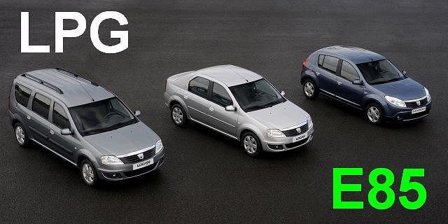 Gama osobowych samochodów Dacia otrzyma nowe, bardziej ekologiczne silniki