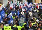 Wielka manifestacja: 1 XII 3 tys. policjant�w u premiera