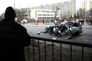 Śmiertelny wypadek na Trasie Łazienkowskiej