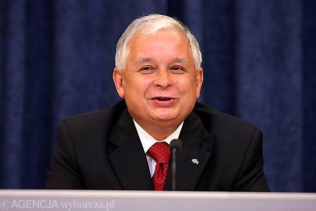 Prezydent Lech Kaczy�ski