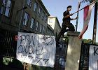 Koniec protestu uczni�w z Konarskiego