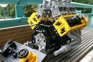 V-�semka z klock�w Lego