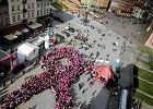 Tysiące osób w Marszu Różowej Wstążki