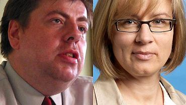 Piotr Semka i Agata Nowakowska