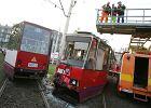 Infolinia dla poszkodowanych w zderzeniu tramwaj�w