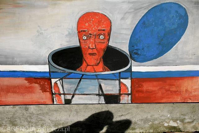 Nowy mural w muzeum powstania warszawskiego for Mural ursynow