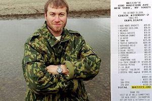 Abramowicz zapłacił za obiad 47 tysięcy dolarów plus napiwek