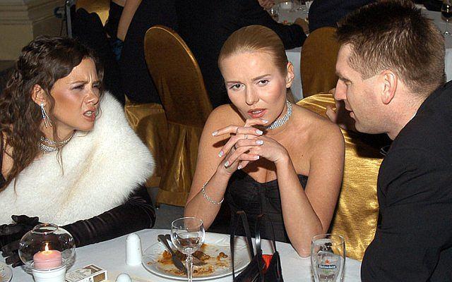 Kinga Rusin, Hanna i Tomasz Lis.