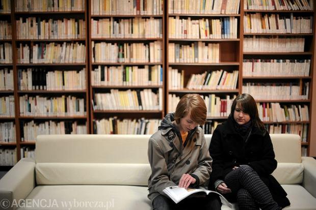 Biblioteka nowego Instytutu Francuskiego