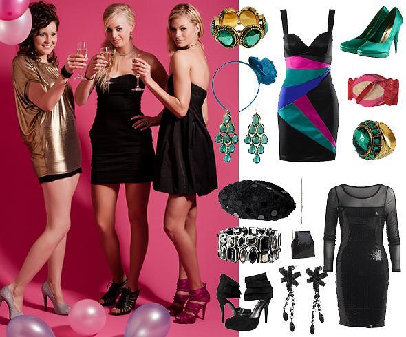 W co się ubrać na sylwestra. Sukienki na sylwestra i sylwestrowe kreacje na trzy sposoby.