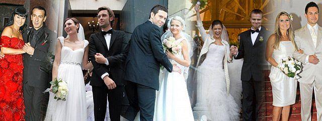 Doda dopiero szykuje suknię na ślub z Nergalem. Jakie kreacje nosiły w tym wyjątkowym dniu inne polskie gwiazdy? Sprawdź galerię!