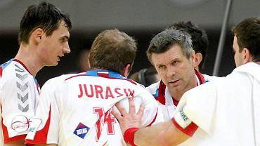 Bogdan Wenta i jego piłkarze