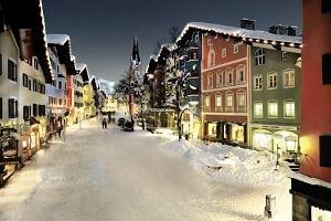 Narty w Austrii - Kitzbühel. Kozica wśród gwiazd
