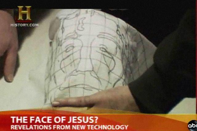 Twarz Jezusa z całunu turyńskiego w 3D. Fot. za abcnews.go.com