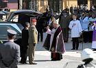 Pogrzeb z ceremoniałem dla najważniejszych osób w państwie