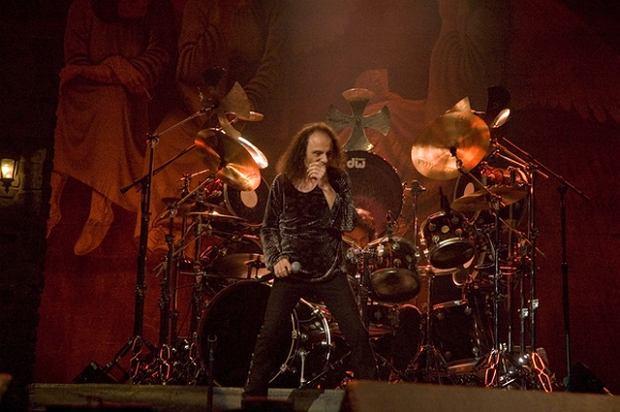 Ronnie James Dio na scenie czuł się jak w domu.